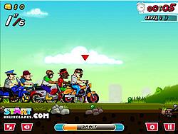 Urban Bike Race game