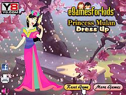 Princess Mulan Dress Up game