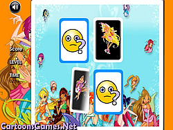 Winx Club Matching spel