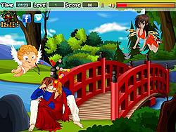 Anime Couples Kiss game