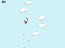 Hello Kitty Jumping game