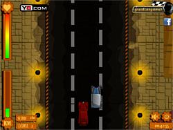 Retro Car Rush game