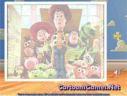 Toy Story Sort My Jigsaw game