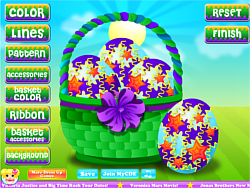 CDE Easter Egg Design game