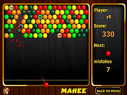 Mahee Bubbles game