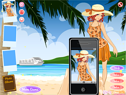 Happy Holiday Beach game