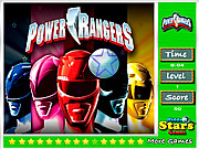 Power Rangers Hidden Stars game