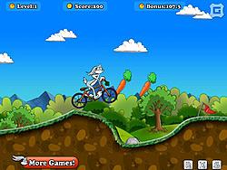 Bugs Bunny Biking game