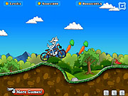 Bugs Bunny Biking game