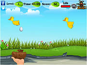 Falling Eggs and Chicks game