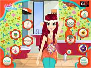 Flower Power Makeover game
