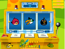 Angry Birds Slot Machine game