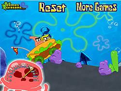 Spongebob Krab Car game