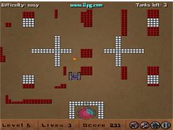 Tank Wars Arena game