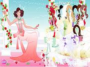 Rose Bride Dressup game
