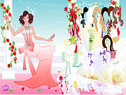 Rose Bride Dressup game