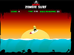 Zombie Surf game