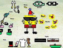 Sponge Bob Square Pants Dress up game