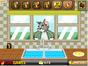Tom and Jerry Cheese War game