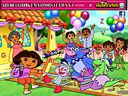 Dora Hidden Alphabets game