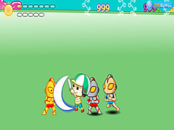 Little Dragon vs Ultraman game