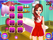 Cute Geeky Girl Makeover game