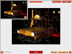 Paris Taxi Jigsaw game
