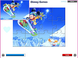 Mickey Mouse - Jigsaw game