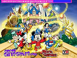 Walt Disney Hidden Alphabets game