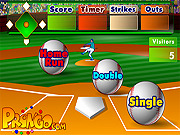 Batter's Up Base Ball Math - Multiplication Ed game