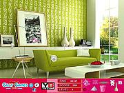 Modern Green Room Hidden Objects game