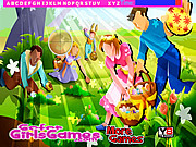 juego Easter Fun Hidden Letters