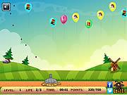 Cannon Balloon Defense game