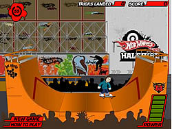 Halfpipe Challenge game