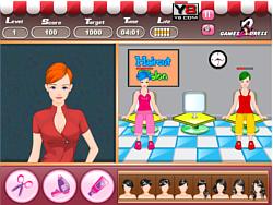 Trendy Haircuts game