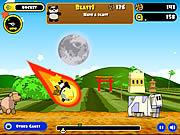 juego Rocket Panda - Flying Cookie Quest