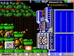 Contra 25th Anniversary game