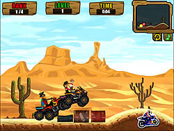 ATV Cowboys game