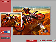 Dirtbike Jigsaw game
