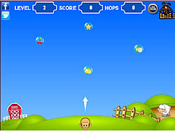 Monkey Hop game