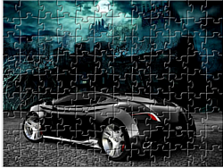 Scary Puzzle Car game