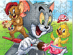juego Tom and Jerry - Puzzle