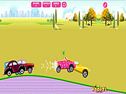 juego Barbie Car Racing