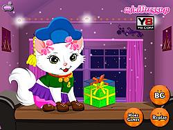 My Little Kitty Birthday game