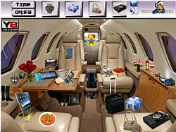 Flight Interior Objects game