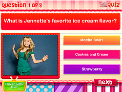 Jennette McCurdy Quiz game