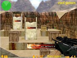 Jucați jocuri gratuite Anti-Terrorist Sniper King