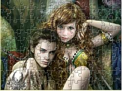 Prince and Princess Jigsaw game