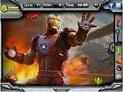 無料ゲームのIron Man 3 Hidden Objectsをプレイ
