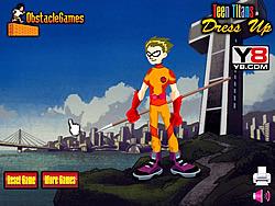 Teen Titans Dress Up game